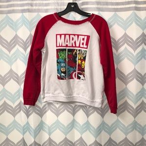 Marvel Sweatshirt | size Large (Juniors)